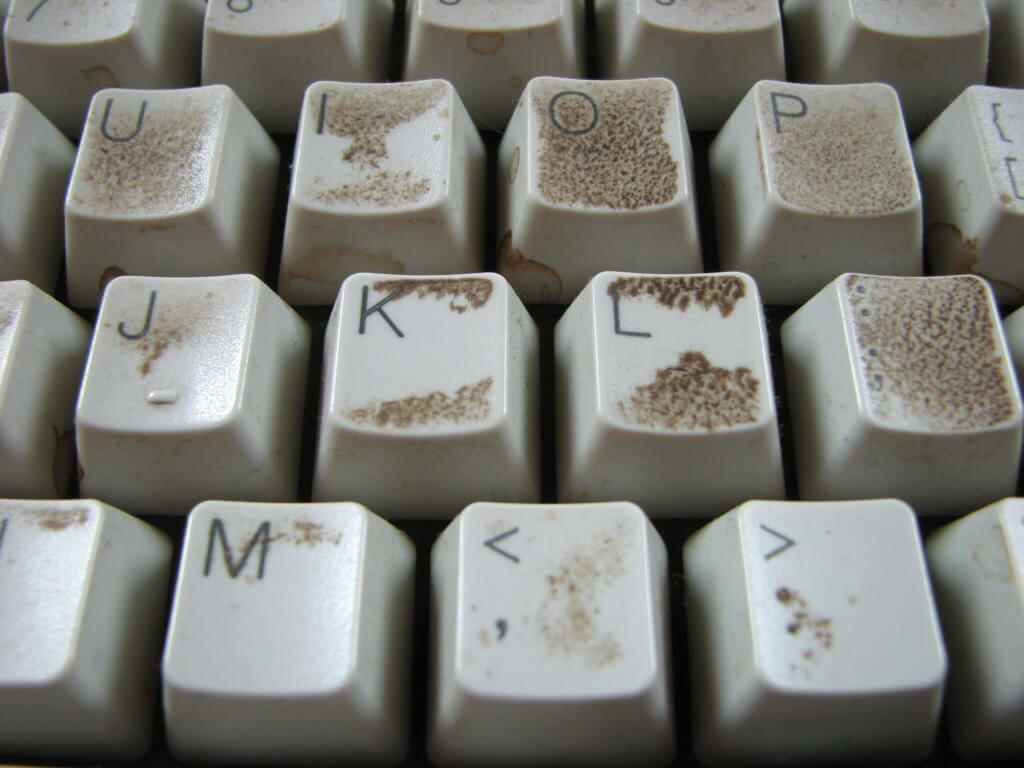 dirty-keyboard