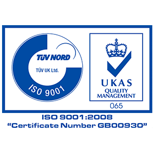 TUV Nord ISO 9001:2008 Accreditation
