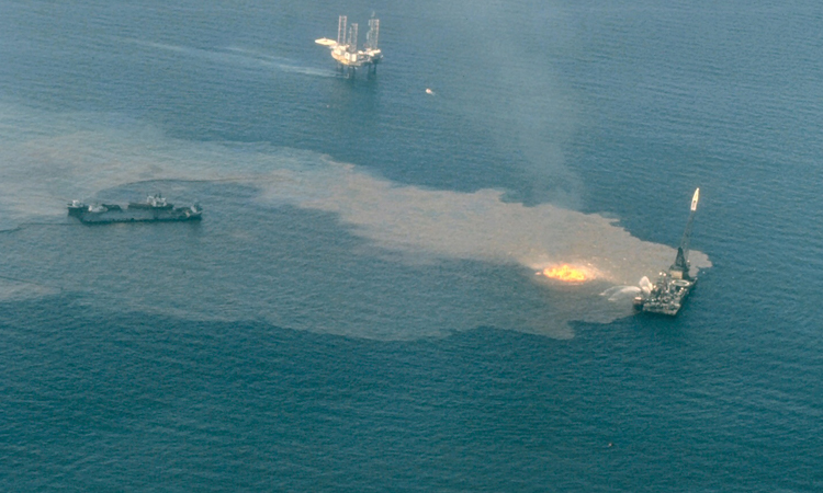 Oil Well Spill in the Gulf of Mexico 1979, Ixtoc