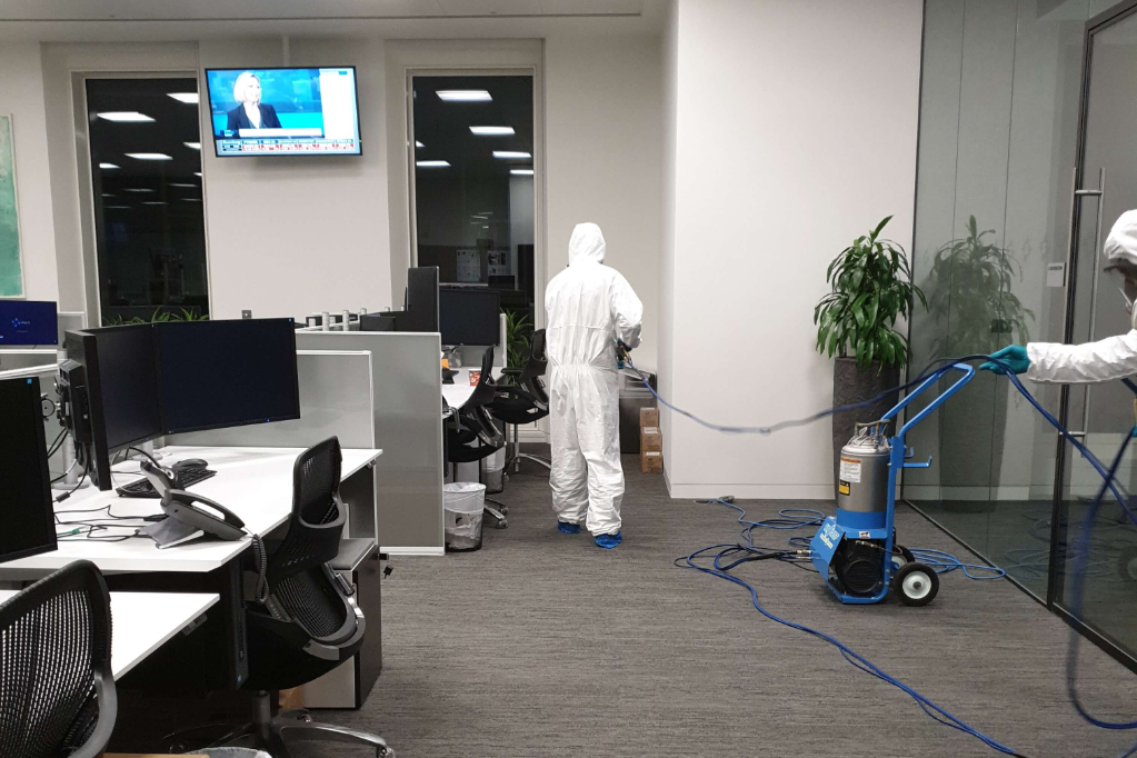 Anti viral cleaning services