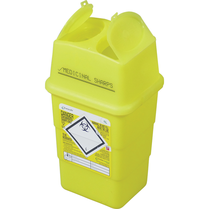 Sharps disposal & bin collection service